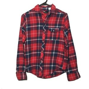 Urban Outfitters BDG Flannel Boyfriend Fit Shirt